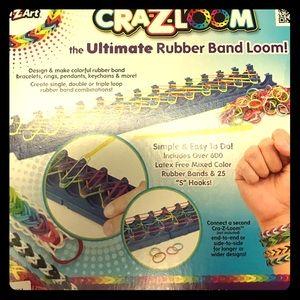 Genuine Cra-z-loom Loop Bracelet Maker Rubber Band